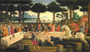 Botticelli, Decameron V 8