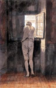 Tischbein Goethe am Fenster